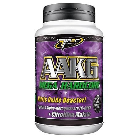 AAKG Mega Hardcore 240 Kapseln -- L-Arginin Pre-Workout Muskel Booster -- Arginin Aminosäuren AKG fur einen stärkeren Pump
