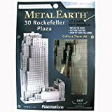 Metal Earth 3D: Rockefeller Plaza Model (Silver Edition)
