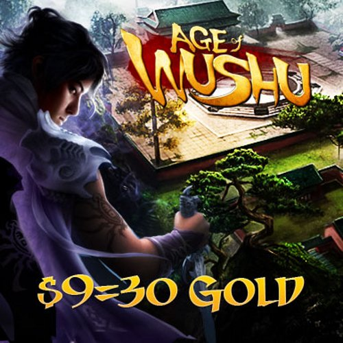 30 Gold: Age of Wushu [Game Connect]