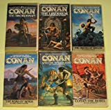 img - for CONAN THE SWORDSMAN, CONAN THE LIBERATOR, CONAN: THE SWORD OF SKELOS, CONAN: THE ROAD OF KINGS, CONAN AND THE SPIDER GOD & CONAN THE REBEL (Bantam Complete Set of 6) (Conan, 1-6) book / textbook / text book