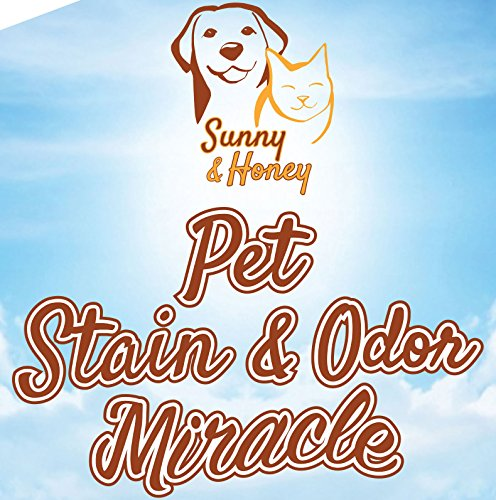 Best Price! Pet Stain & Odor Miracle - Enzyme Cleaner for Dog and Cat Urine, Feces, Vomit and Drool ...