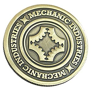 MMS Full Dollar Coin (Bronze) by Mechanic Industries - Trick