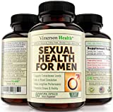 Sexual Health for Men Testosterone Booster – 100% All Natural & Non-Gmo Supplement for Male Enhancement & Extreme Strength. Increases Libido, Power, Endurance & Performance. 100% Money Back Guarantee