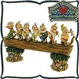 木彫り調フィギュア 七人の小人 「家路への行進」 <白雪姫> Homeward Bound ディズニー・トラディション [おもちゃ&ホビー]