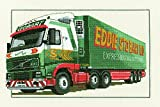 Heritage Crafts Eddie Stobart Volvo FH12 Cross Stitch Kit