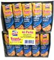Lance Toast Toasty Peanut Butter Crackers 40 Pack Box, 51.4 Ounce from Lance