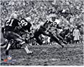 """Jim Brown Cleveland Browns Autographed 8"""" x 10"""" Horizontal in Mud Photograph - Fanatics Authentic Certified"""