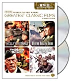 61hVGNnl4ML. SL160  TCM Greatest Classic Films Collection: World War II   Battlefront Europe (Kellys Heroes / Where Eagles Dare / The Dirty Dozen / Battleground) Reviews