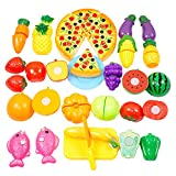 Amurleopard おままごと キッチン 野菜 フルーツ セット 切れる お料理 豪華セット ランキングお取り寄せ