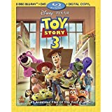 Toy Story 3 (Four-Disc Blu-ray/DVD Combo + Digital Copy) ~ Tom Hanks