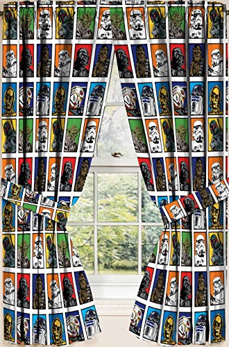 Star Wars Classic Window Drapes, Set of 2