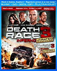 Death Race Three: Inferno [Blu-ray + DVD]
