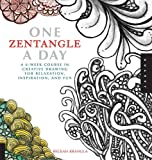 img - for One Zentangle A Day: A 6-Week Course in Creative Drawing for Relaxation, Inspiration, and Fun (One A Day) book / textbook / text book