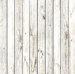 StudioPRO Heavy Duty Photography Vinyl Backdrop Background Picturesque White Wood Floor - 3 ft x 3 ft