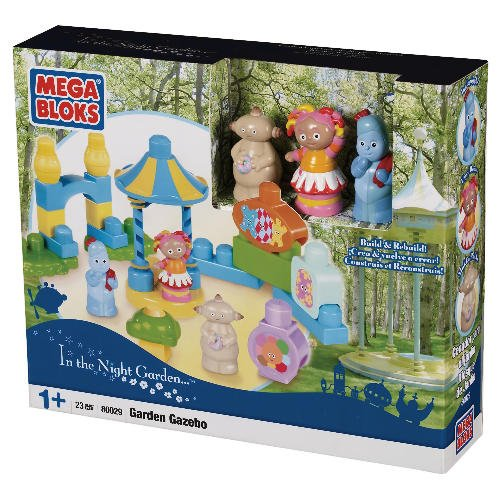 IN THE NIGHT GARDEN MEGA BLOKS GARDEN GAZEBO