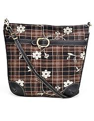 Stylocus Ladies Sling Bag-Flat Sling-Adjustable Bags-Floral Bags
