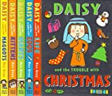 Trouble with Daisy 6 Book Set RRP £24.94 - Included Daisy and the Trouble With : Life, Maggots, Kittens, Zoos, Giants & Christmas (Trouble with Daisy) Kes Gray