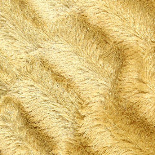 Manta sofá camel poliester textil/hogar 125 x 150 cm