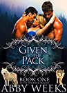 Given to the Pack: Wolf Shifter Men...