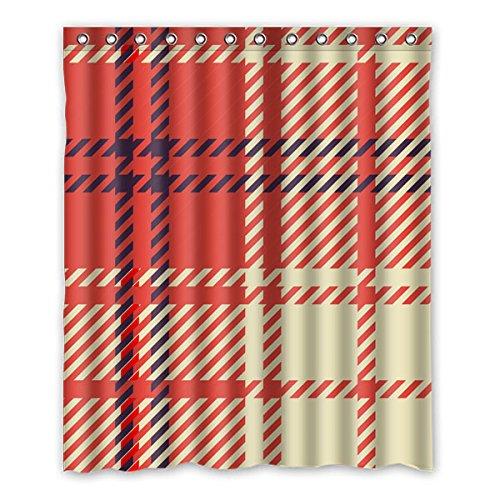 fondo-rojo-patron-de-rayas-diseno-de-celosia-diseno-ecologico-materiales-impermeable-moho-cortina-de