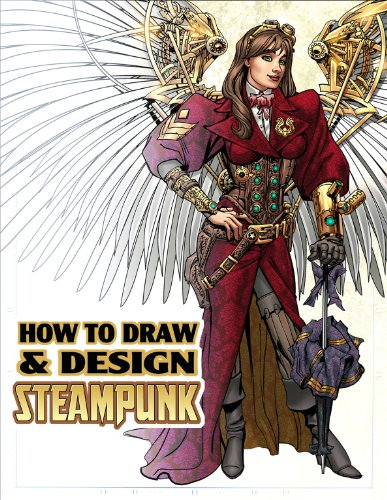 How to Draw & Design Steampunk Supersize Tp