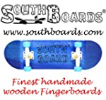 Komplett Fingerskateboard BL/WS/BL SO...