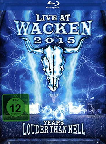 Live At Wacken 2015 - 26 Years (4 Blu-Ray)