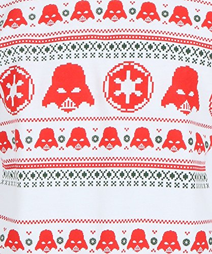 Star Wars Jolly Vader Ugly Sweater Crewneck Fleece Sweatshirt (Xx-Large)