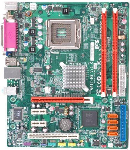 ECS G41T-M2 (V1.0) Core 2 Quad/ Intel G41/ A&V&GbE/ MATX Motherboard