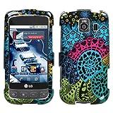 Protector Phone Cover Case for LG Optimus S / Optimus U LS670 - Love Fair