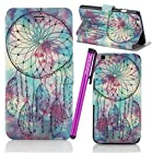 BeeShine Retail Package Leather Flip Stand iPhone 6 4.7 Wallet Case Flap Pouch Cover Skin for Apple iPhone 6 4.7 inch + Screen Protector & Touch Stylus Pen (Sylish Flower Leaf Pattern)