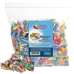 Gobstoppers Mini Jawbreaker Snack Packs, 3 LB Bulk Candy
