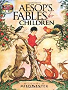 Aesop's Fables for Children: Includes a Read-and-Listen CD (Dover Read and Listen) by Aesop, Milo Winter, Read and Listen cover image