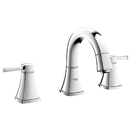 Grandera 8 in. Widespread 2-Handle Low Arc Bathroom Faucet