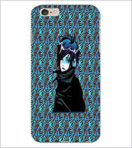 PrintDhaba Dark Angel D-4554 Back Case Cover for APPLE IPHONE 6 (Multi-Coloured)
