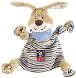 Baby - sigikid, M�dchen und Jungen, Schnuffeltuch Hase, Semmel Bunny, Beige/Blau, 47893