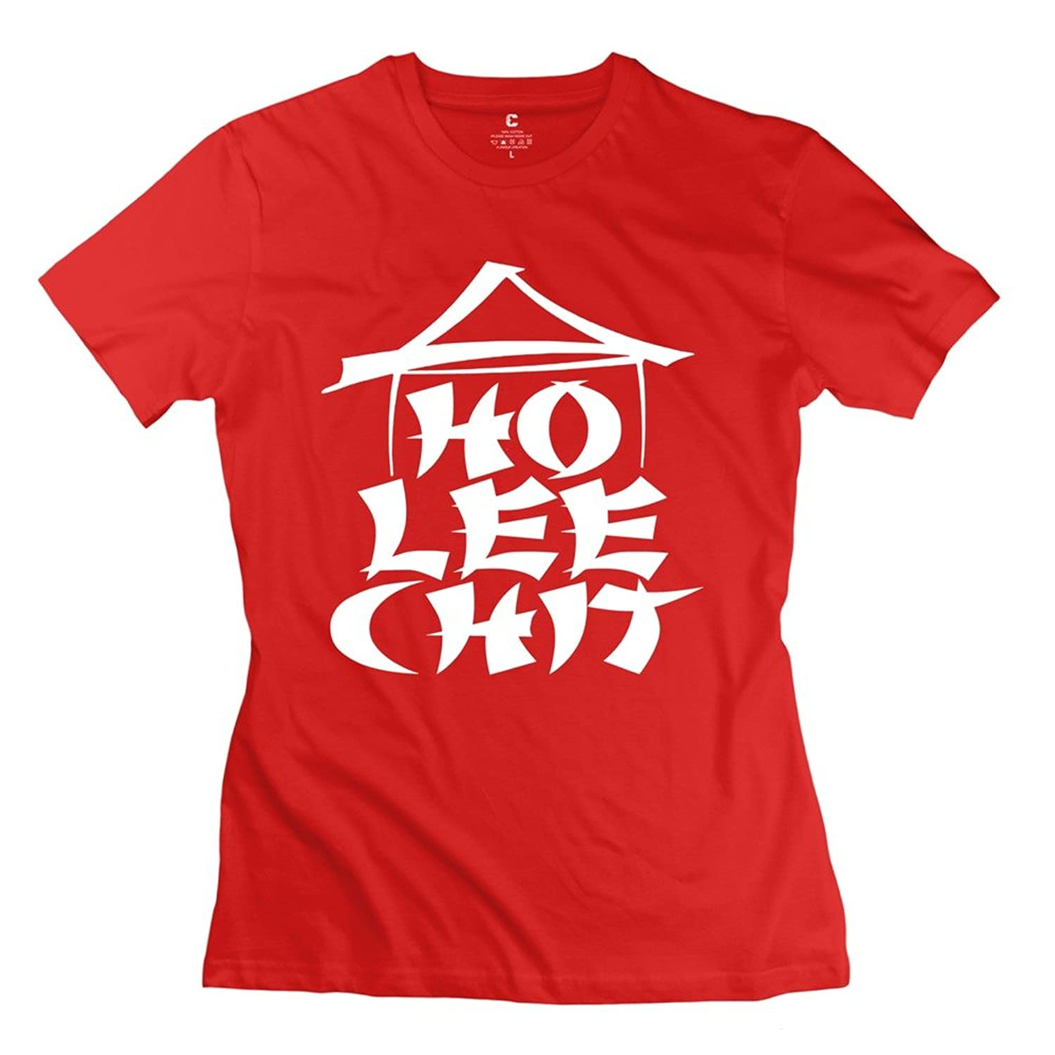 ZZY Cute LEEHO LEE CHIT T Shirt - Women's Tshirt DeepHeather клей пва фирмы leeho в москве