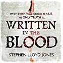 Written in the Blood Audiobook by Stephen Lloyd Jones Narrated by Gemma Whelan