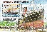 Gran Bretaña-Jersey Bloque 95 (completa.edición.) 2011 de barcos (sellos para los coleccionistas)