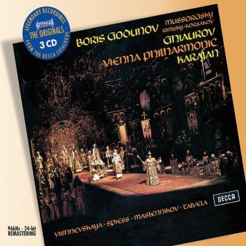 Boris Godunov (Ghiaurov, Karajan) - Mussorgsky -CD