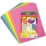 Darice Foamies Adhesive Back Foam Sheets Multipack - Assorted Bright Colors - Great for Craft Projects with Kids, Classrooms, Camps, Scouts, Parties - 9