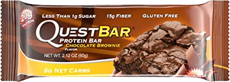 Quest Nutrition, Protein Bar, Chocolate Brownie, 12 Bars, 2,12 Unzen (60 g) Jeder
