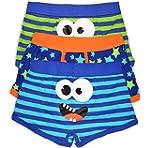 Boys Boxer Pants Trunk Fit Kids Under...