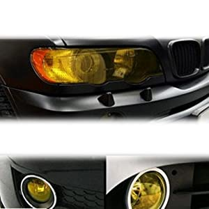 12x48/'/' Sticker Clear Car Auto Headlight Taillight Fog Light Tint Viny CNZ