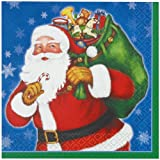 16x Night Before Christmas Dinner/Party Paper Napkins / Santa