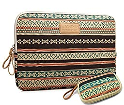 kayond®Bohemian Style Canvas Fabric Water-resistant 13-13.3 Inch laptop / Notebook Computer / MacBook / Macbook Air/MacBook Pro Sleeve Case Bag Cover(buy one,get one free Small Storage Bag)