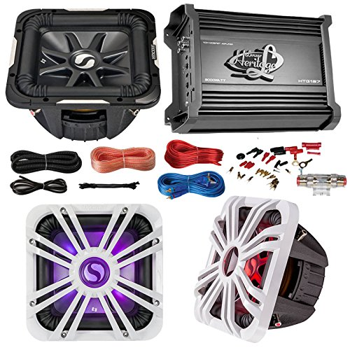 Car Subwoofer And Amp Combo: Kicker S10L74 10