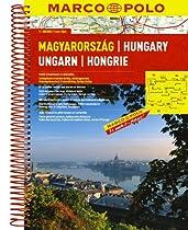 Hungary Marco Polo Road Atlas: 1:300 000 (Marco Polo Road Atlases)
