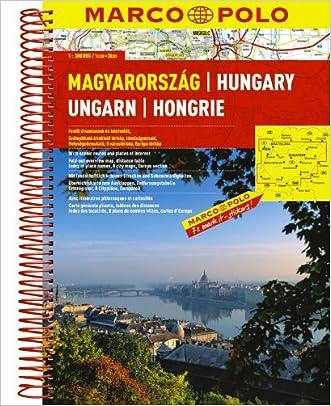 Hungary Marco Polo Road Atlas