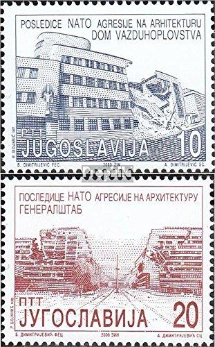 jugoslawien-2970-2971-komplausg-2000-militarische-gebaude-briefmarken-fur-sammler